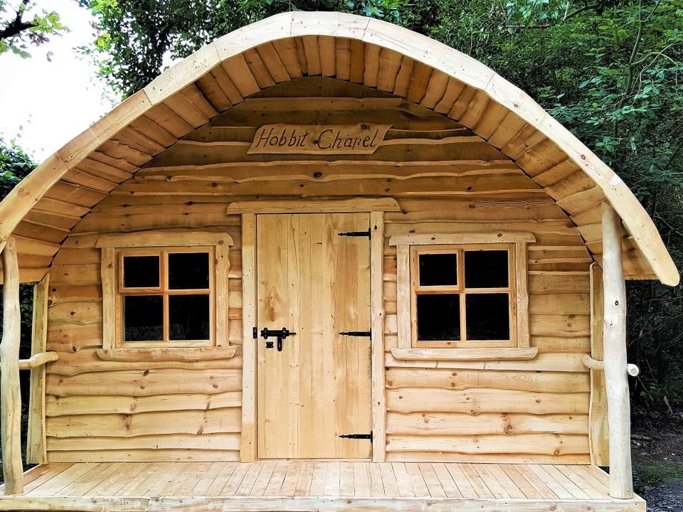 Saunahütte kaufen: Hobbit-Sauna nach Maß | TimberTeam Holzbauten