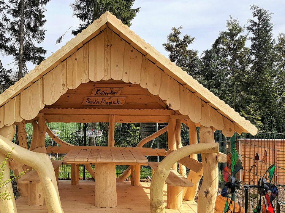 3x3 Holz-Pavillon kaufen (Bausatz)