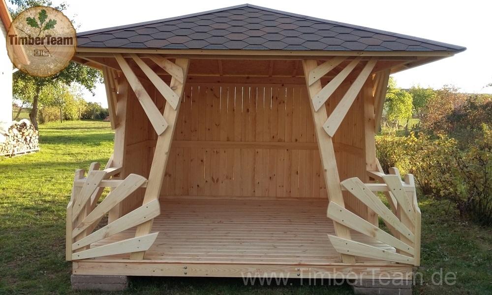 Anna Holz-Gartenhaus Pavillon kaufen