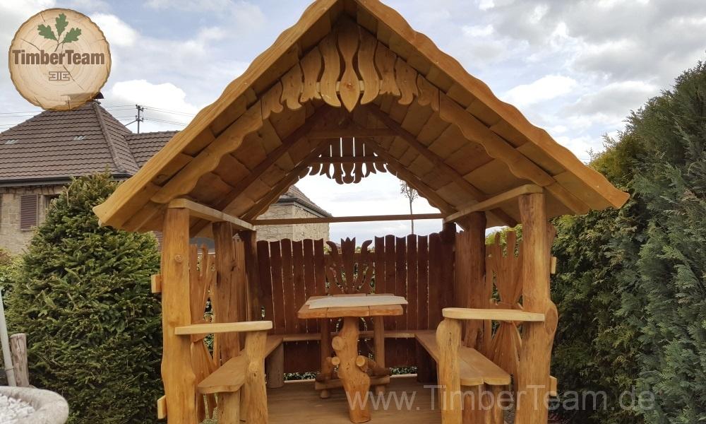 Gartenhaus Eleganz mit Holz-Pavillon