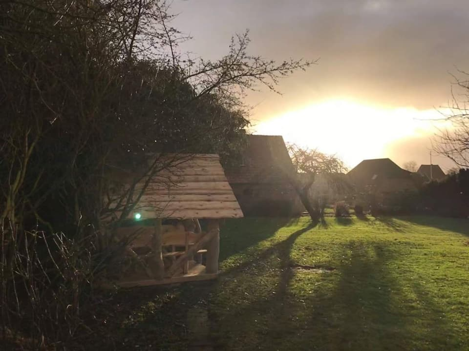 Beispiel Gartenhütte Pavillon