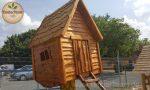 Märchenhaus Hexenhütte auf Stelzen