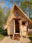 Hexenhaus als Ferienhütte im Märchen-Design