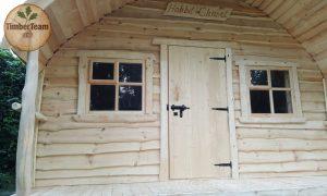 Einzigartiges kleines Wochenendhaus im Hobbit-Stil