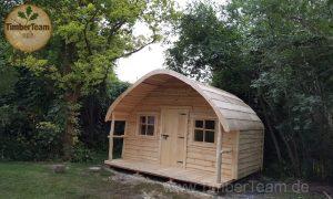 Kleines Ferienhaus aus Holz bestellen