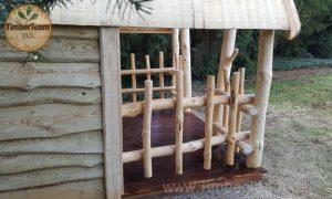 Holz-Hütte nach Mass bestellen