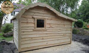 Eigene Holzhütte nach Mass bestellen