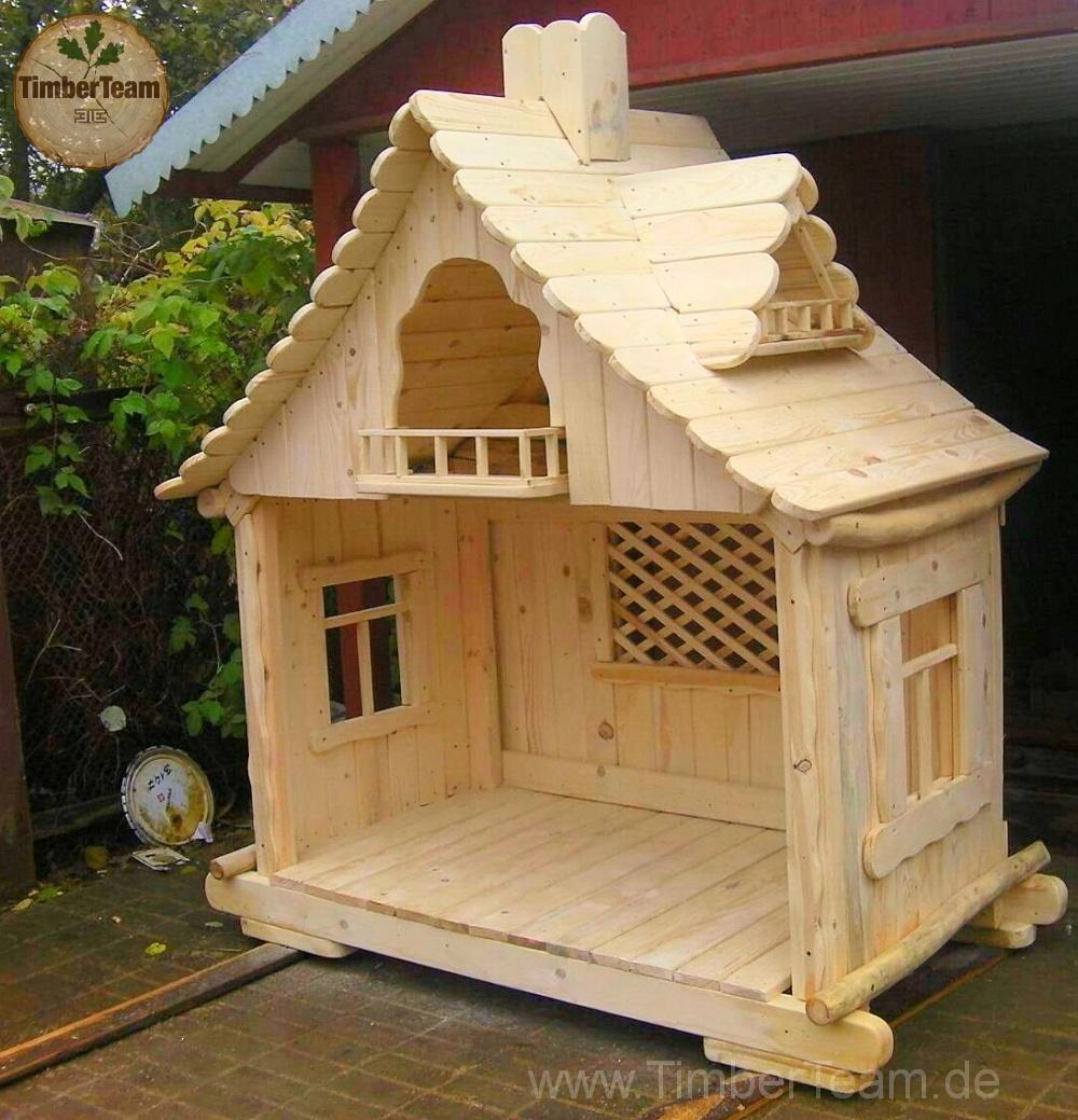 Einzigartiges Märchenhaus aus Holz
