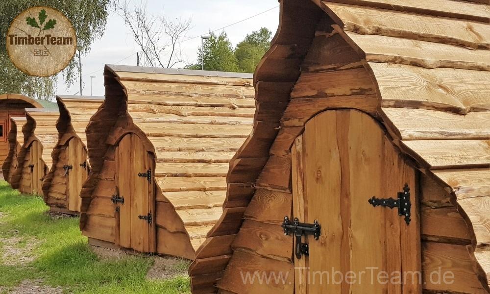 Zauberhaftes Glamping Zelt kaufen (Dachhaus)