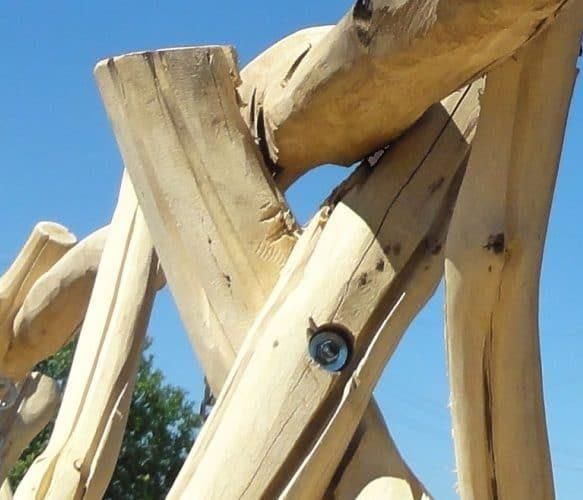 Massive Hollywoodschaukel Holz kaufen