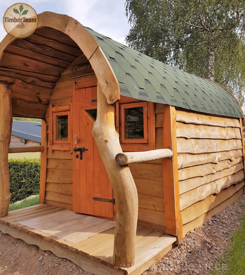 Ferienhaus aus Holz: Hobbit-Haus Margo Foto1
