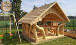Gartenpavillon aus Holz bauen