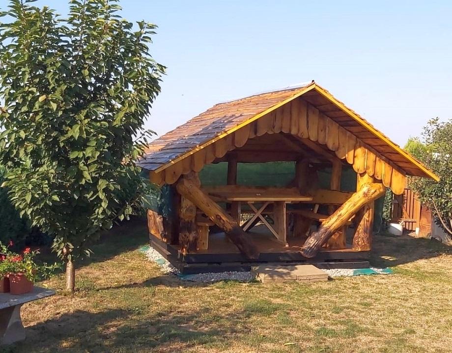 Holzpavillon in Magdeburg