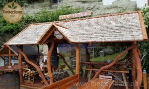 Bausatz für Pavillon aus Holz