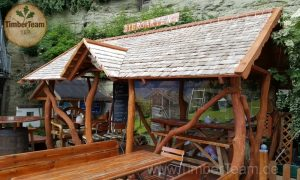 Pavillon aus Holz kaufen