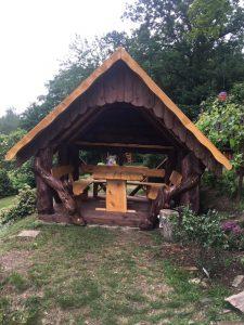 rustikaler Pavillon TimberTeam