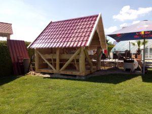 Pavillon rotes Dacht