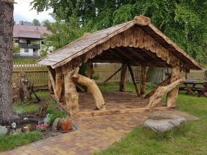 Pavillon 3x3 TimberTeam