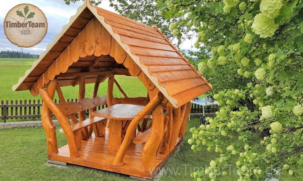 Gartenlaube Pavillon aus Holz 200x250 kaufen | TimberTeam ...