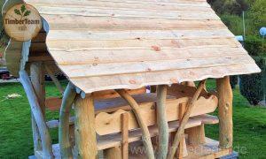 TimberTeam Holzlaube im Garten errichten