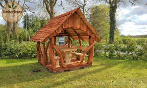 Pavillon-Laube selber bauen mit Bausatz RST-200x250 von TimberTeam