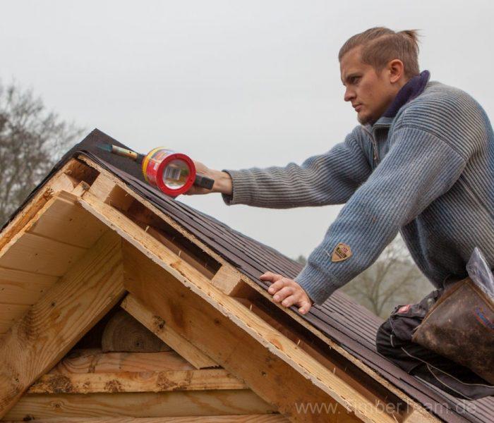 Gartensauna Blockhaus selber bauen Fotostrecke 107
