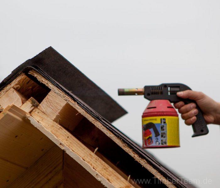 Gartensauna Blockhaus selber bauen Fotostrecke 108