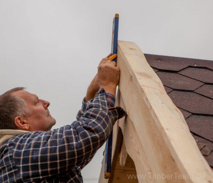 Gartensauna Blockhaus selber bauen Fotostrecke 113