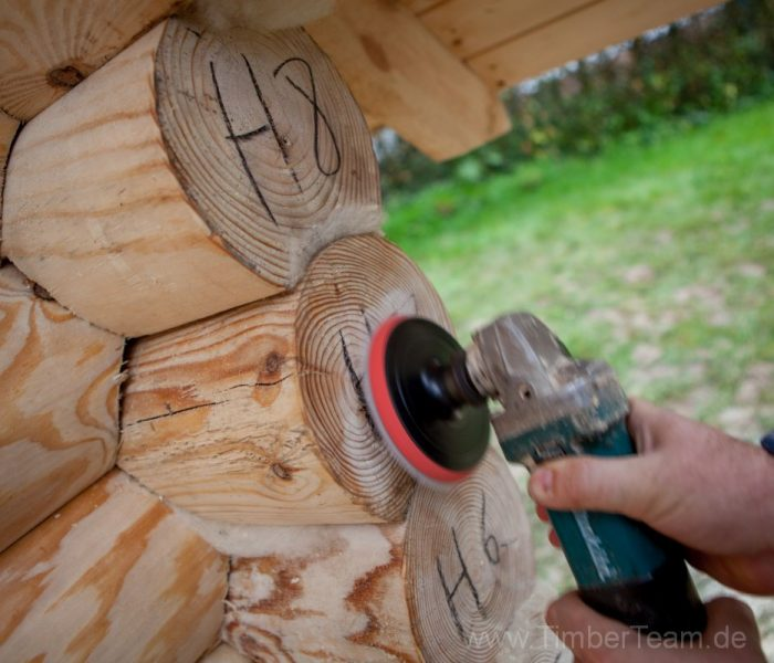 Gartensauna Blockhaus selber bauen Fotostrecke 116