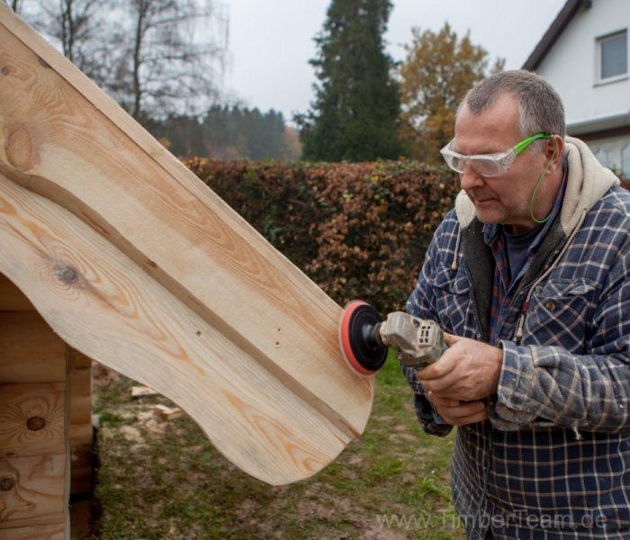 Gartensauna Blockhaus selber bauen Fotostrecke 117