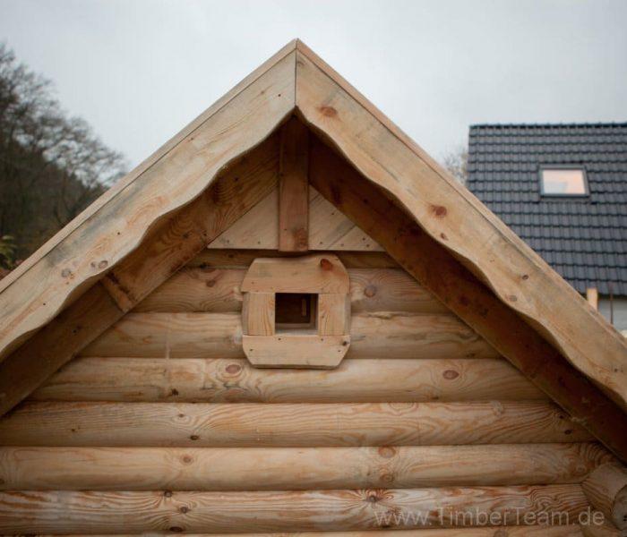 Gartensauna Blockhaus selber bauen Fotostrecke 126
