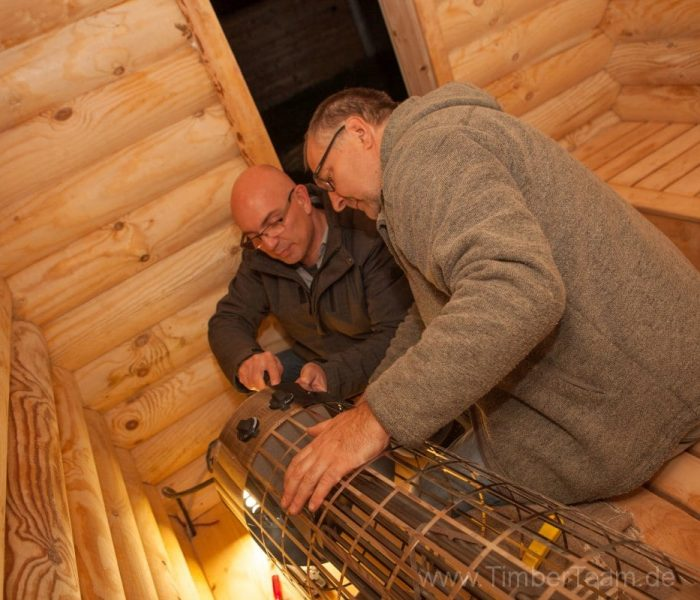 Gartensauna Blockhaus selber bauen Fotostrecke 127