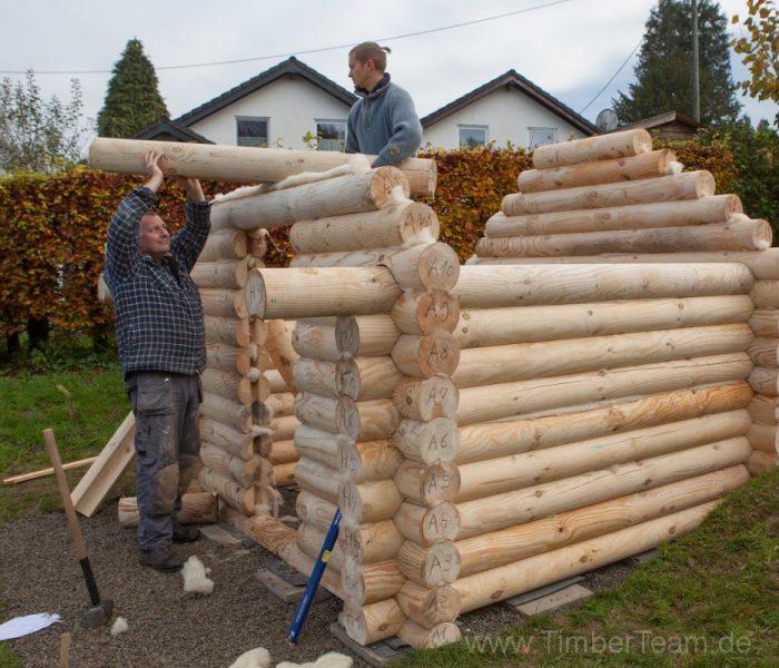 Sauna selber bauen - DYI Gartensauna, Außensauna, Saunahütte ...