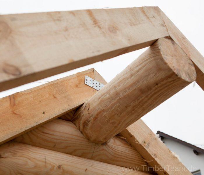 Gartensauna Blockhaus selber bauen Fotostrecke