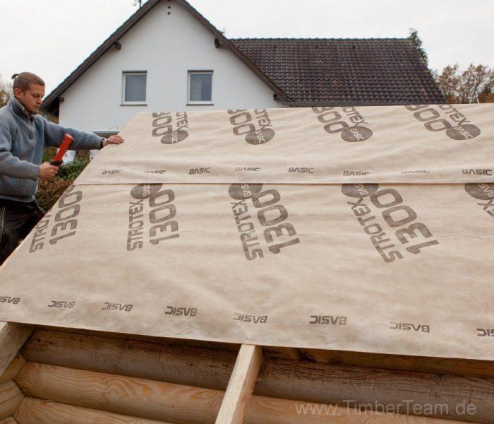 Gartensauna Blockhaus selber bauen Fotostrecke 69