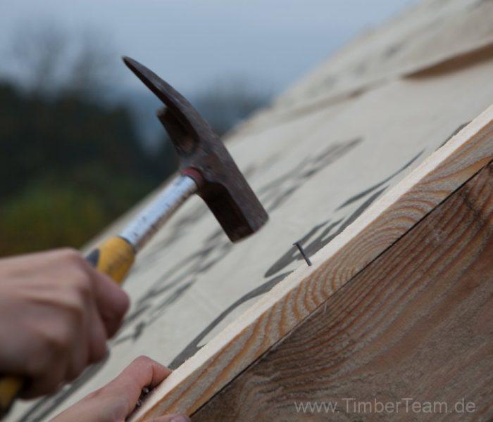 Gartensauna Blockhaus selber bauen Fotostrecke 67