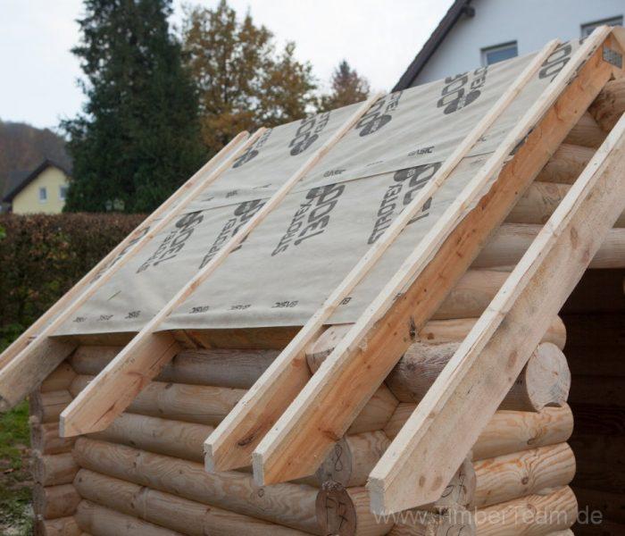 Gartensauna Blockhaus selber bauen Fotostrecke 71