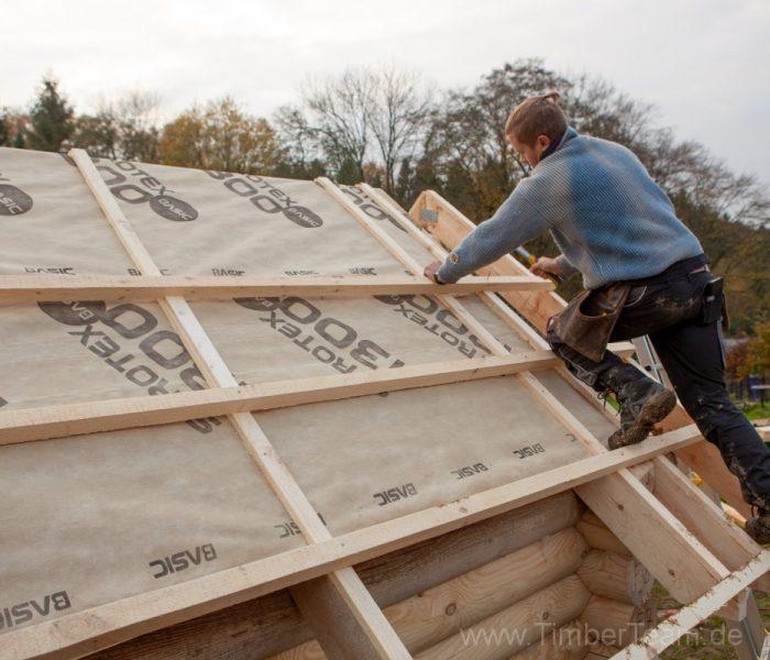 Gartensauna Blockhaus selber bauen Fotostrecke 74