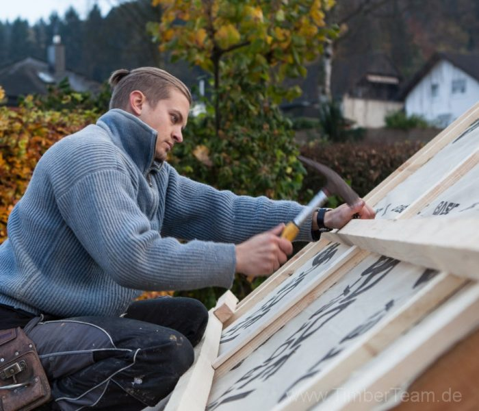 Gartensauna Blockhaus selber bauen Fotostrecke 76