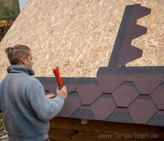Gartensauna Blockhaus selber bauen Fotostrecke 88