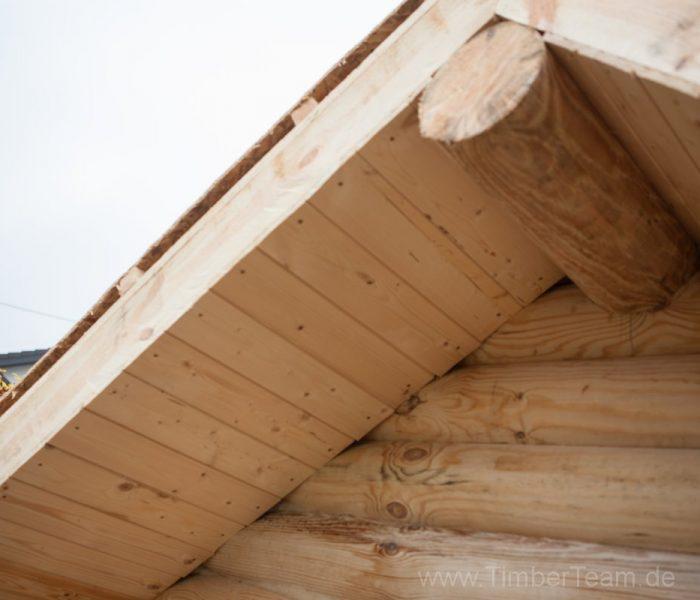 Gartensauna Blockhaus selber bauen Fotostrecke 89