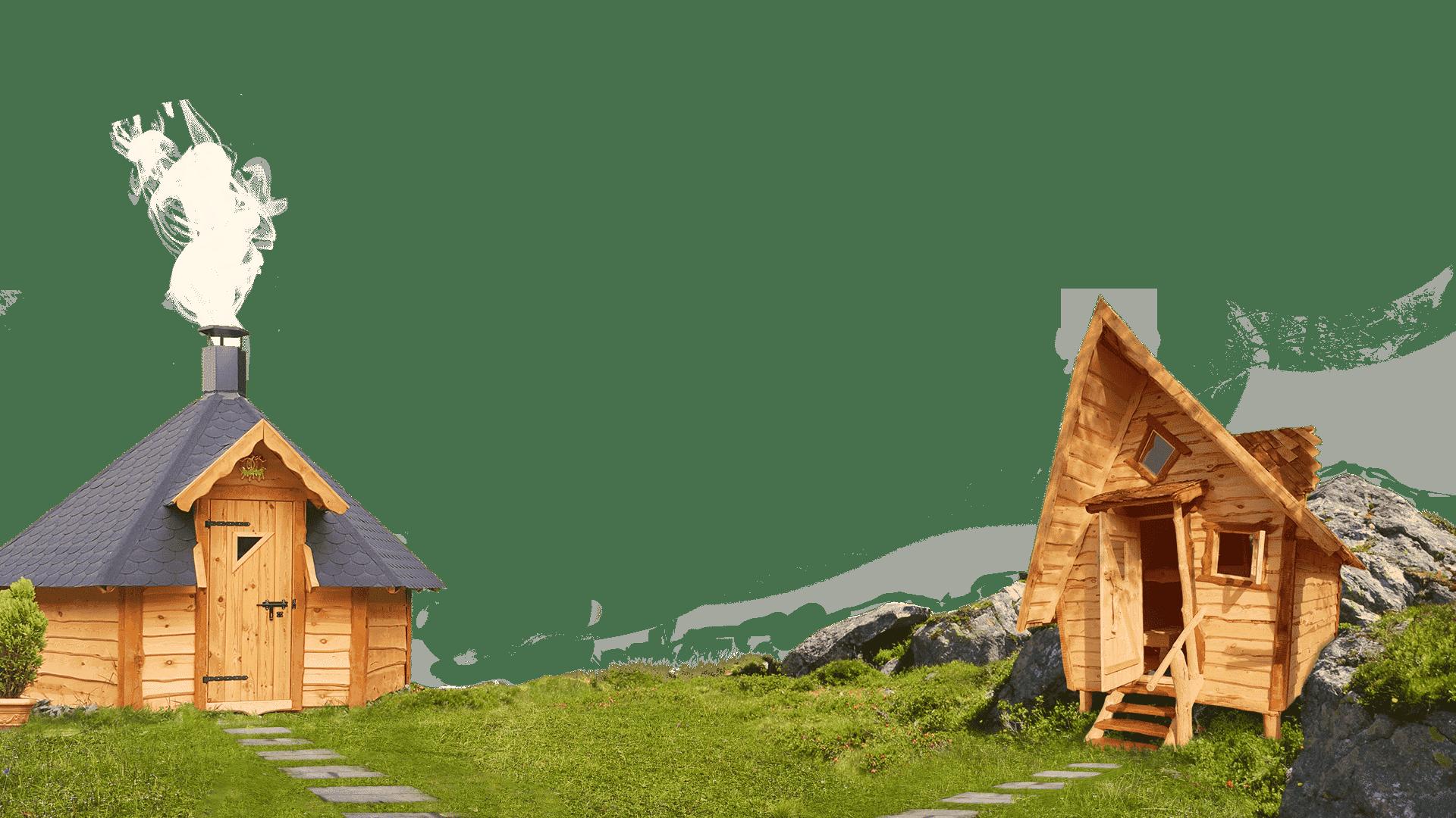 Timberteam Zauberhafte Sauna Und Holzhutten Wie Im Marchenwald
